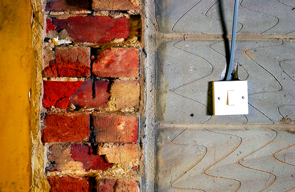 Brick Wall「Brick and breeze block walls」:写真・画像(16)[壁紙.com]