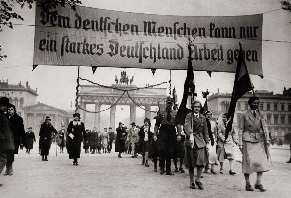 Germany「National socialist demonstration in Berlin」:写真・画像(2)[壁紙.com]