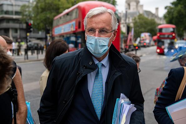 Brexit「Michel Barnier In London To Continue Brexit Negotiations」:写真・画像(18)[壁紙.com]