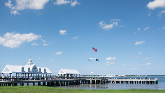 Charleston - South Carolina「USA, South Carolina, Charleston, Waterfront Park」:スマホ壁紙(14)