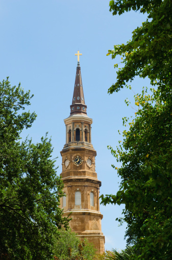 Charleston - South Carolina「USA, South Carolina, Charleston, St. Philip's Church」:スマホ壁紙(12)