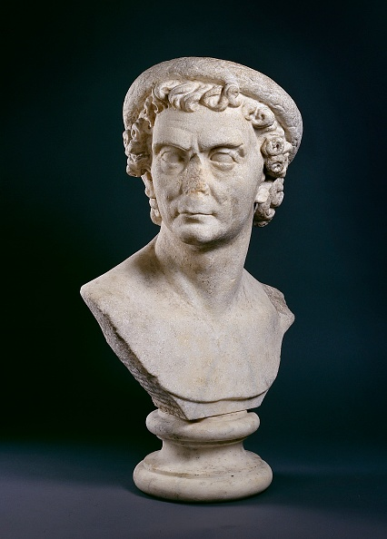 像「Roman Marble Bust Of Man Wearing A Wreath Of Olive Leaves」:写真・画像(18)[壁紙.com]