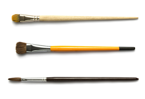 Art and Craft Equipment「Paintbrushes」:スマホ壁紙(5)
