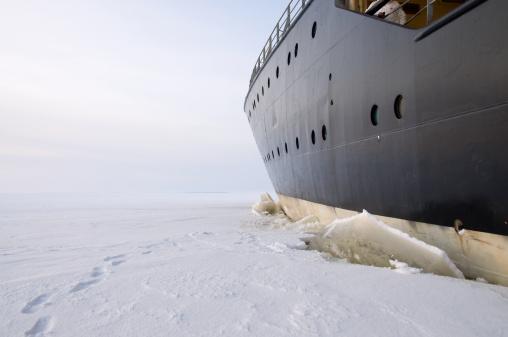Ice-breaker「Icebreaker in the ice」:スマホ壁紙(13)