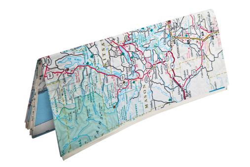 Road Map「Folded Map Standing」:スマホ壁紙(0)