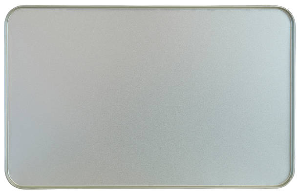 Silver sheet metal frame texture flanged edges background:スマホ壁紙(壁紙.com)