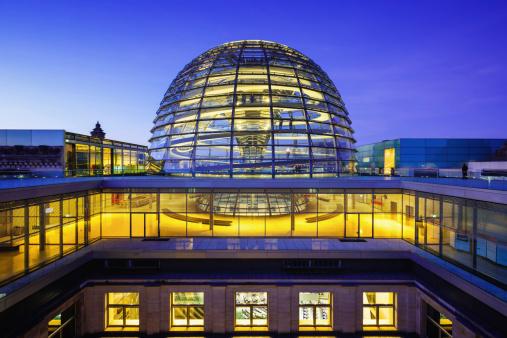 The Reichstag「Reichstag dome in Berlin」:スマホ壁紙(11)