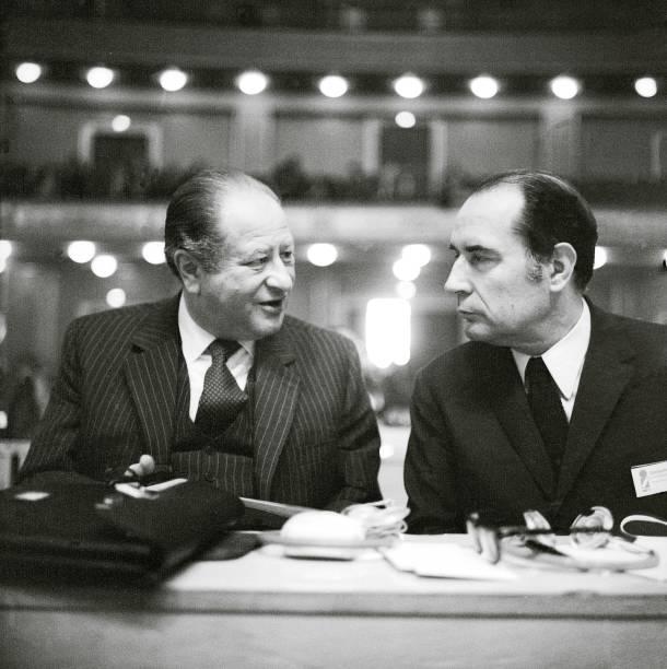 Bruno Kreisky and Francois Mitterrand in conversat:ニュース(壁紙.com)
