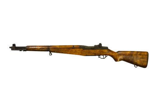 Semi-Automatic Pistol「1930's era M1 Garand .30 caliber United States rifle.」:スマホ壁紙(18)