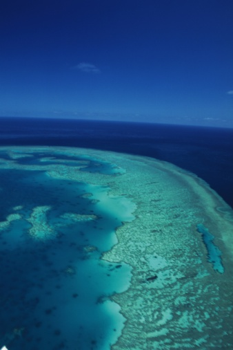 Reef「Great Barrier Reef, Australia, Aerial View, Oceania」:スマホ壁紙(19)