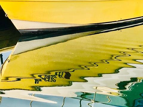 Great Lakes「Boats reflections in Lake Superior」:スマホ壁紙(16)