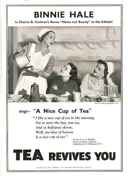 Teapot「'A nice cup of Tea' 'Tea revives you'」:写真・画像(2)[壁紙.com]