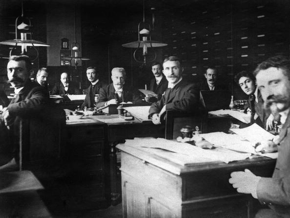 1900「White-collar office workers c. 1900」:写真・画像(7)[壁紙.com]