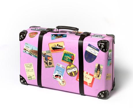 Vacations「Vintage suitcase」:スマホ壁紙(19)