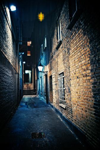 Wide Angle「dark alley」:スマホ壁紙(4)