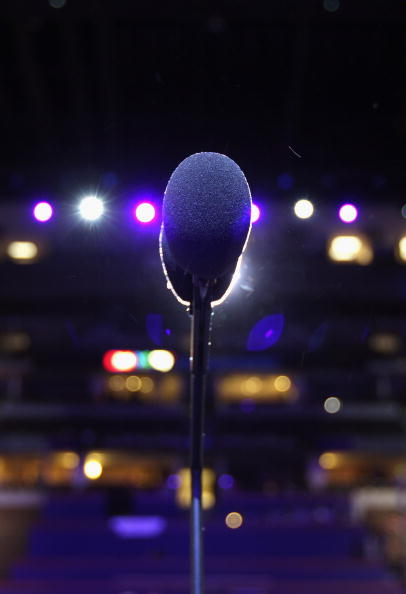 Microphone「Denver Prepares To Host The Democratic National Convention」:写真・画像(0)[壁紙.com]
