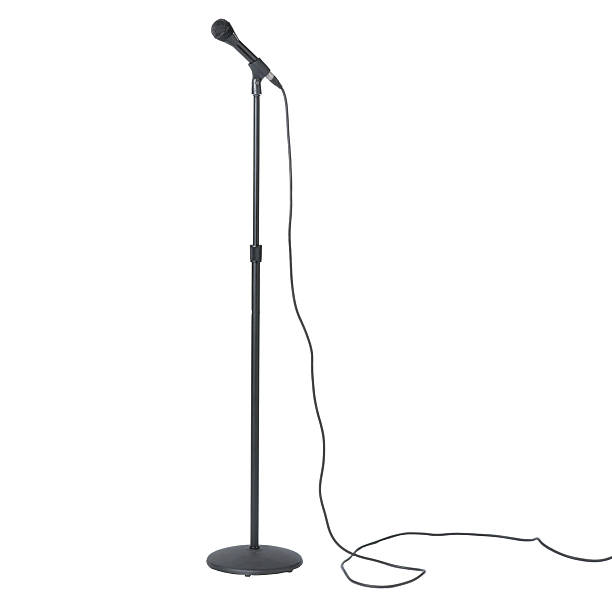 Microphone on Stand:スマホ壁紙(壁紙.com)