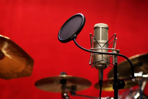 Rock Music「Microphone」:スマホ壁紙(19)