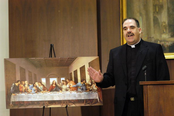 "Last Supper「Archbishop Of Philadelphia Discusses ""The Da Vinci Code""」:写真・画像(1)[壁紙.com]"