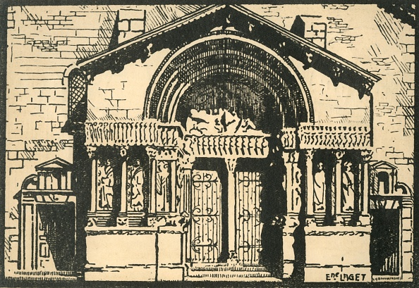 Arles「St-Trophime - Le Portail - The Portal Of The Church Of St-Trophime」:写真・画像(13)[壁紙.com]