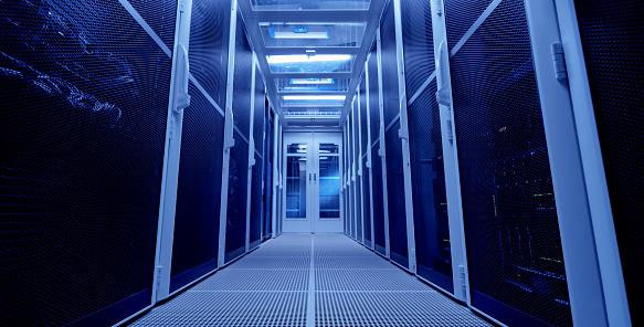 Data Center「Server room」:スマホ壁紙(9)