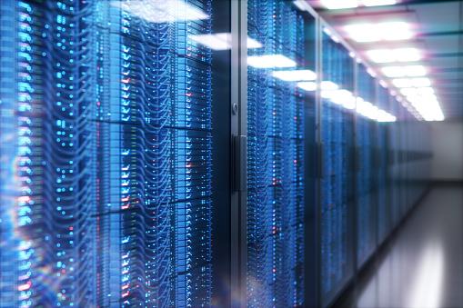Digitally Generated Image「Server room rack panel」:スマホ壁紙(15)