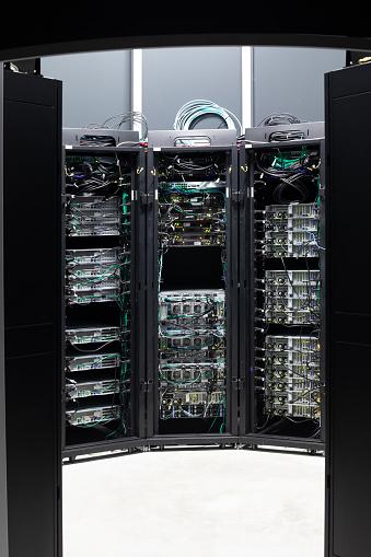 Data Center「Server Room Network」:スマホ壁紙(7)