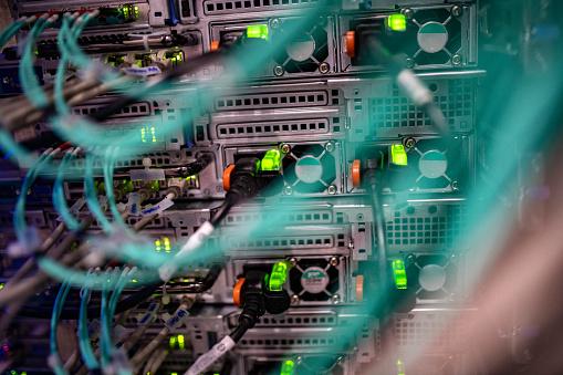 Data Center「Server room」:スマホ壁紙(11)