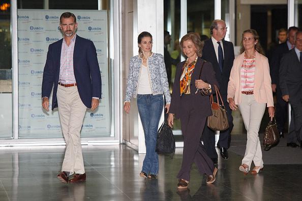 Princess Elena of Spain「King Juan Carlos Goes Under Surgery at Quiron Hospital」:写真・画像(18)[壁紙.com]