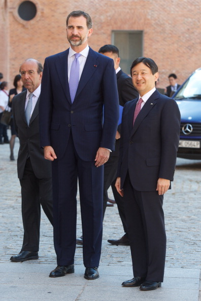 Japanese Royalty「Prince Felipe of Spain and Japanese Crown Prince Naruhito Visit Tsunami Exhibition」:写真・画像(12)[壁紙.com]