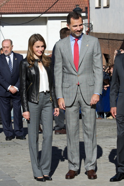 Visit「Principes de Asturias Awards 2013 - Spanish Royals Visit Teverga」:写真・画像(19)[壁紙.com]