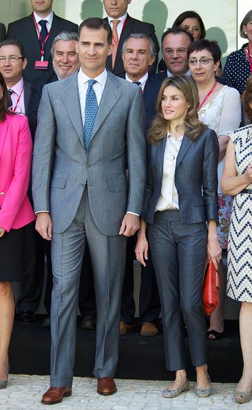 Flat Shoe「Prince Felipe and Princess Letizia of Spain Meet Directors of Cervantes Institute」:写真・画像(4)[壁紙.com]