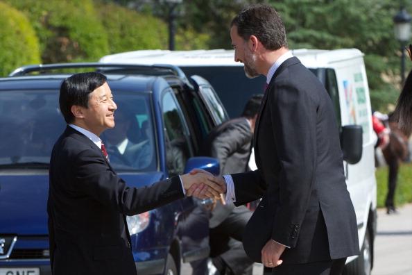 Japanese Royalty「Prince Felipe of Spain Meets Japanese Crown Prince Naruhito」:写真・画像(17)[壁紙.com]