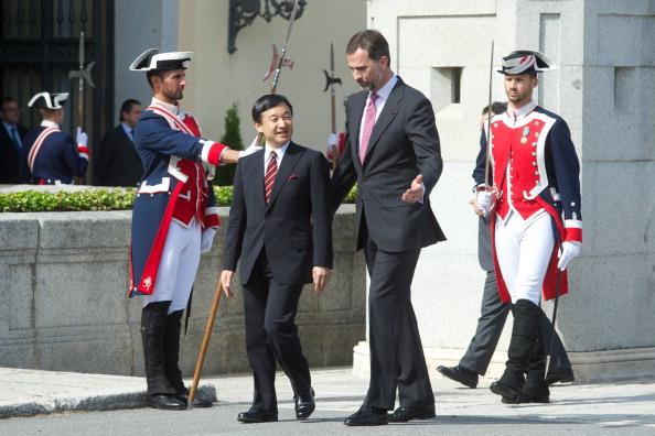 Japanese Royalty「Prince Felipe of Spain Meets Japanese Crown Prince Naruhito」:写真・画像(16)[壁紙.com]