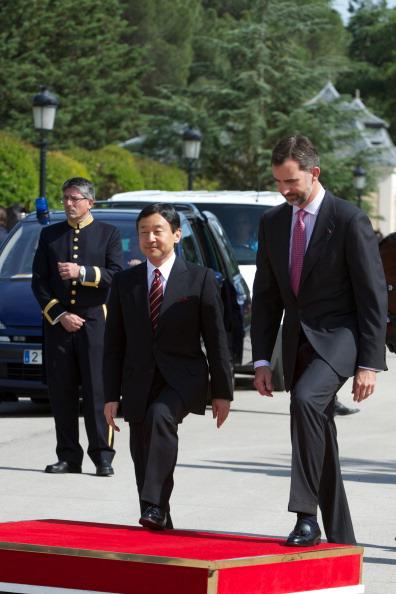 Japanese Royalty「Prince Felipe of Spain Meets Japanese Crown Prince Naruhito」:写真・画像(18)[壁紙.com]