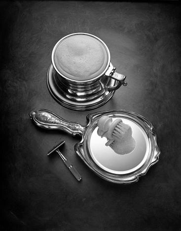 Hand Mirror「Shaving」:スマホ壁紙(16)