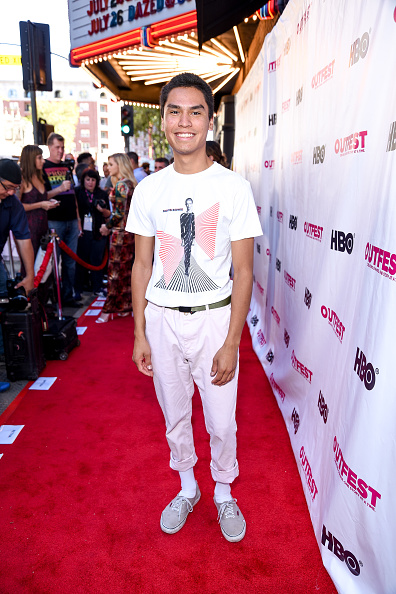 "Forrest Goodluck「2018 Outfest Los Angeles LGBT Film Festival Closing Night Gala Of ""The Miseducation Of Cameron Post"" - Red Carpet」:写真・画像(10)[壁紙.com]"