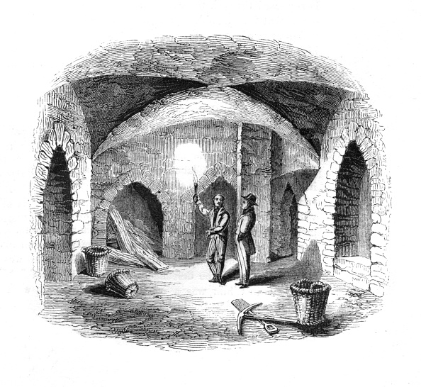 Pick Axe「'Vault beneath the Old House of Lords', 1845」:写真・画像(16)[壁紙.com]