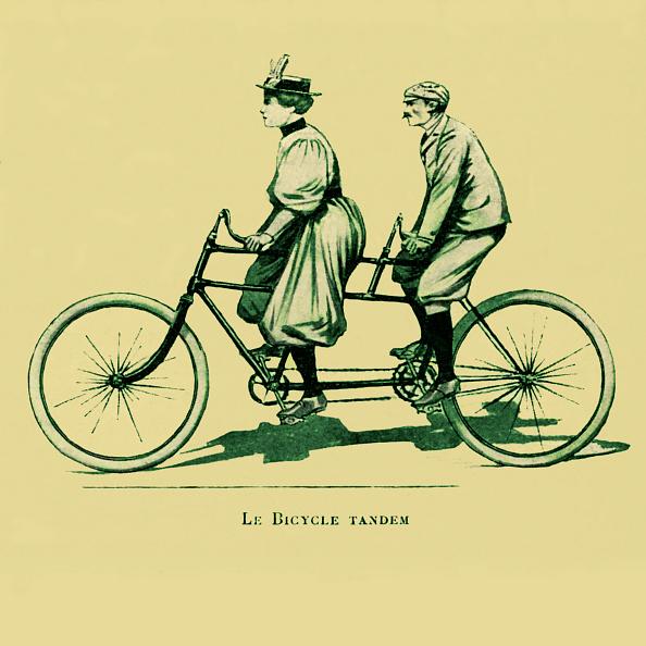 Transportation「A Tandem Bicycle」:写真・画像(0)[壁紙.com]