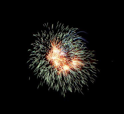 花火「Sumidagawa Fireworks Festival, Tokyo, Japan」:スマホ壁紙(11)