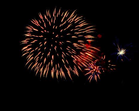 花火「Sumidagawa Fireworks Festival, Tokyo, Japan」:スマホ壁紙(13)