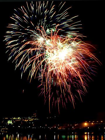 花火「Sumidagawa Fireworks Festival, Tokyo, Japan」:スマホ壁紙(4)