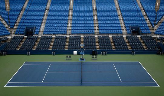 ������「Empty tennis stadium with seats」:スマホ壁紙(8)