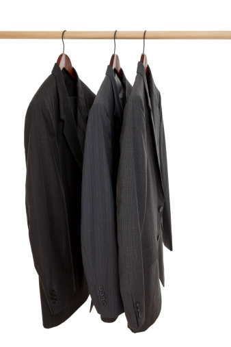 Clothes Rack「Three Suits on a Rack」:スマホ壁紙(17)
