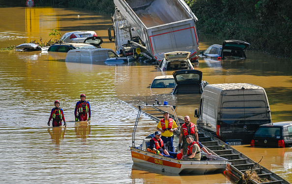 Germany「Germany Continues Evacuation And Rescue From Floods As Death Toll Rises」:写真・画像(15)[壁紙.com]