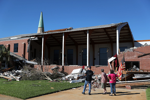 Methodist「Florida  Panhandle Faces Major Destruction  After Hurricane Michael Hits As Category 4 Storm」:写真・画像(12)[壁紙.com]