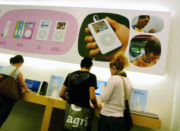 Wireless Technology「iPod Thefts Contribute To Surge In Crime」:写真・画像(15)[壁紙.com]