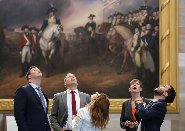 Ceiling「Congress Returns To Session After Summer Recess」:写真・画像(5)[壁紙.com]
