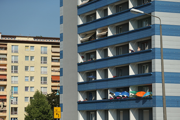 Apartment「Eastern Germany 25 Years Since German Reunification」:写真・画像(1)[壁紙.com]