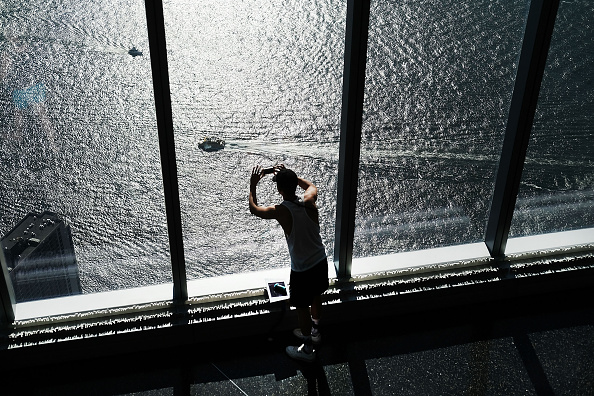 On Top Of「New York's World Trade Center Area Prepares To Mark 15th Anniversary Of Sept. 11th Attacks」:写真・画像(2)[壁紙.com]